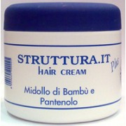 Крем с экстрактом бамбука и пантенолом - Hair cream plus midollo di bambu e pantenolo